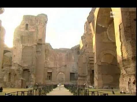 Terme di Caracalla (da Passaggio a Nord Ovest)