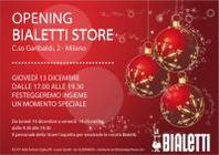 A Milano apre il nuovo Bialetti Store