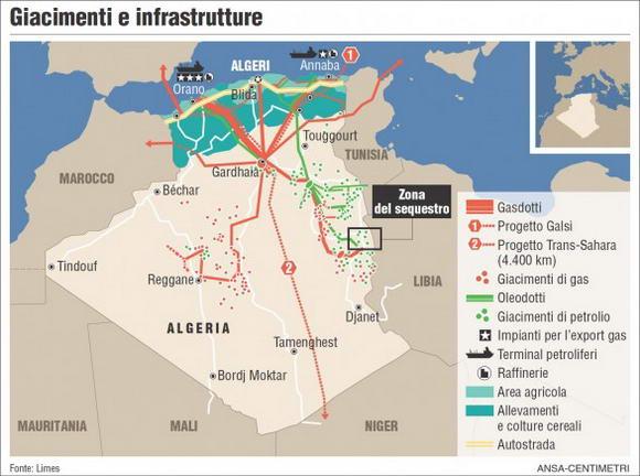 Dal Mali la guerra della Francia si sposta al gas di Algeria e Libia