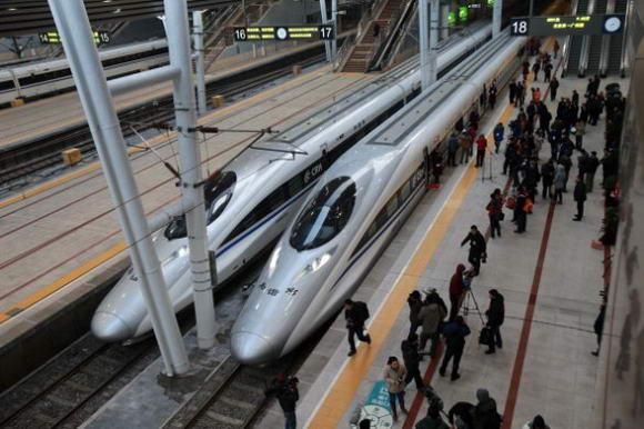 Treni a alta velocità per la Pechino Canton la linea più lunga al Mondo