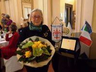 Donatella Cinelli Colombini è la Donna Inner 2012 premiata ieri a Firenze