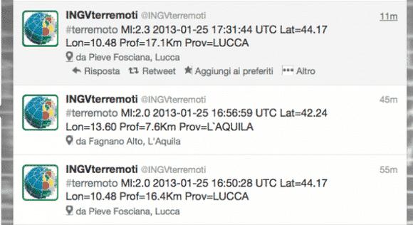 Terremoto in Toscana e Emilia, 25 gennaio 2013, aggiornamenti in tempo reale. Domani scuole chiuse