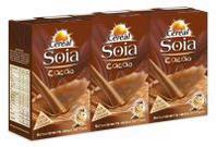 Céréal Soia drink cacao in brick