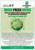"""Formazione: torna a Roma il """"Green Press Office"""""""