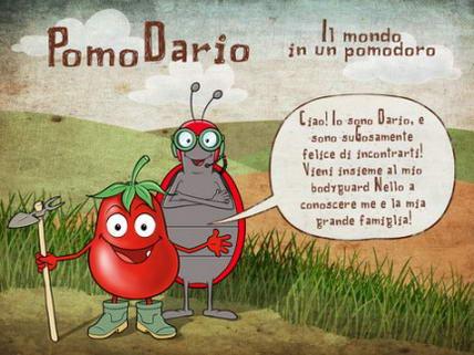 Coltivare pomodori con Pomodario l' App per bambini