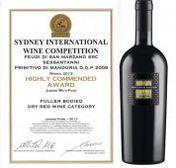 """Due prestigiosi premi per due vini pugliesi al """"Sydney International Wine Competition 2013"""""""
