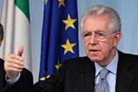 """Monti: """"Presidenza di una Camera all'opposizione"""""""