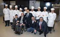 Ieri la prima lezione per il Master della Cucina Italiana