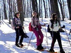 Il trekking sull'Appennino piace agli stranieri