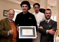 """Vince la terza edizione del """"Premio Chef d'Autore"""" di OriginalITALY.it lo chef Massimo Torrengo della 'Trattoria del Bivio' di Cerretto Langhe (Cn)"""