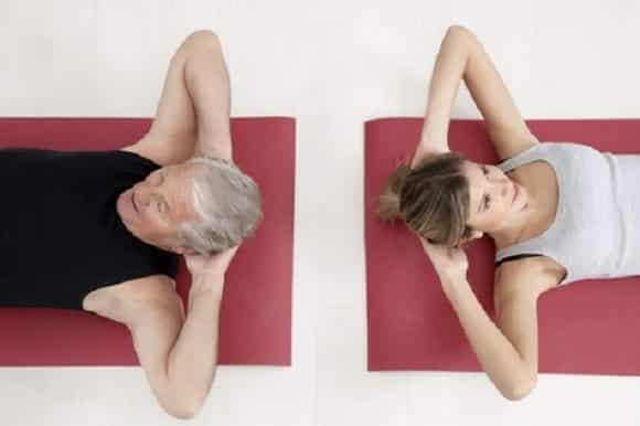 Tanti esercizi di ginnastica dolce da fare in casa