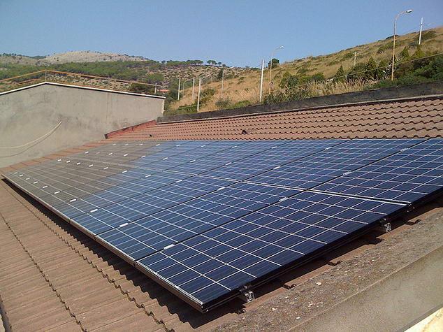 esempio di un impianto fotovoltaico