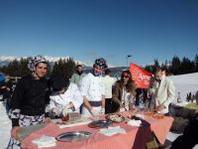 Il Pigato Blitz con la bresaola IGP, conquista gli sciatori della Valtellina