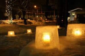 Luci nel ghiaccio e mongolfiere, magia Svezia