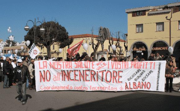 Rifiuti: il Tar del Lazio blocca i lavori per l'inceneritore di Albano