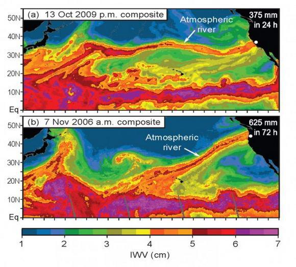 La polvere del Sahara aumenta le piogge in California