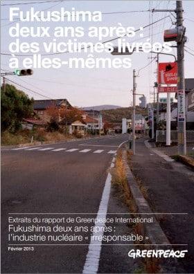 Incidente nucleare di Fukushima Daiichi due anni dopo: il rapporto di Greenpeace