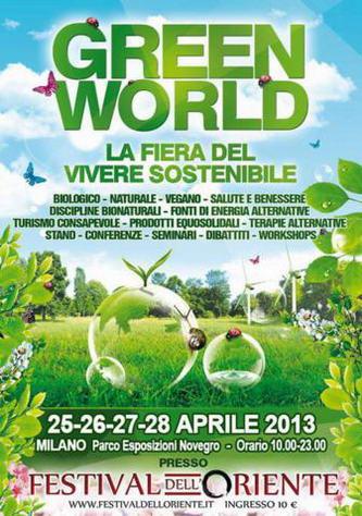Green World, la fiera del vivere sostenibile