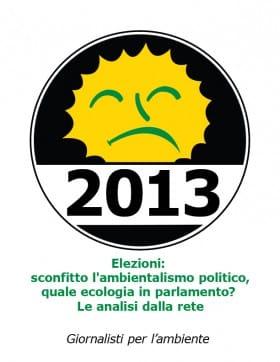 Parlamento 2013 tanto ecologico e ambientalista che nessuno lo sa