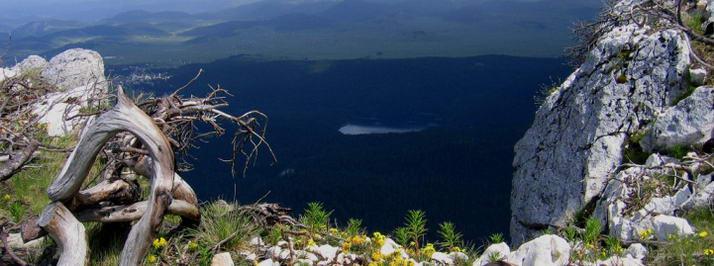 durmitor parck, roccia, montagna, lago