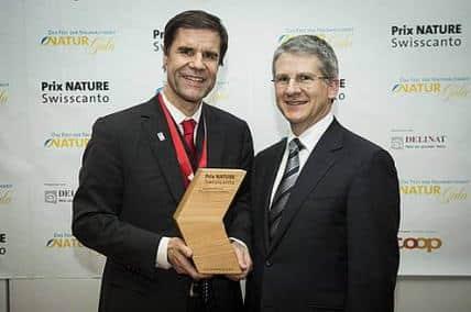 Premiato l'inventore dell'impronta ecologica con il Prix Nature Swisscanto 2013