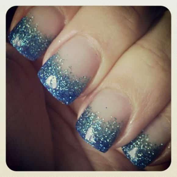 gel manicure unghie