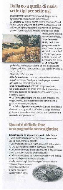 Io non ho paura. Ho letto l'articolo di Paolo Martini su Sette e ora si che so tutto sulle farine.