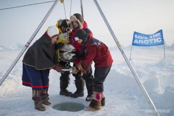 Greenpeace nell'Artico per il Polo Nord patrimonio di tutti, il successo di #SaveTheArctic