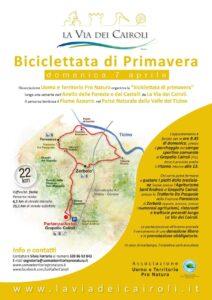 Biciclettata di Primavera a Groppello Cairoli