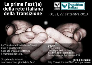 STILI DI VITA - La prima Festa della Rete Italiana delle Transizione