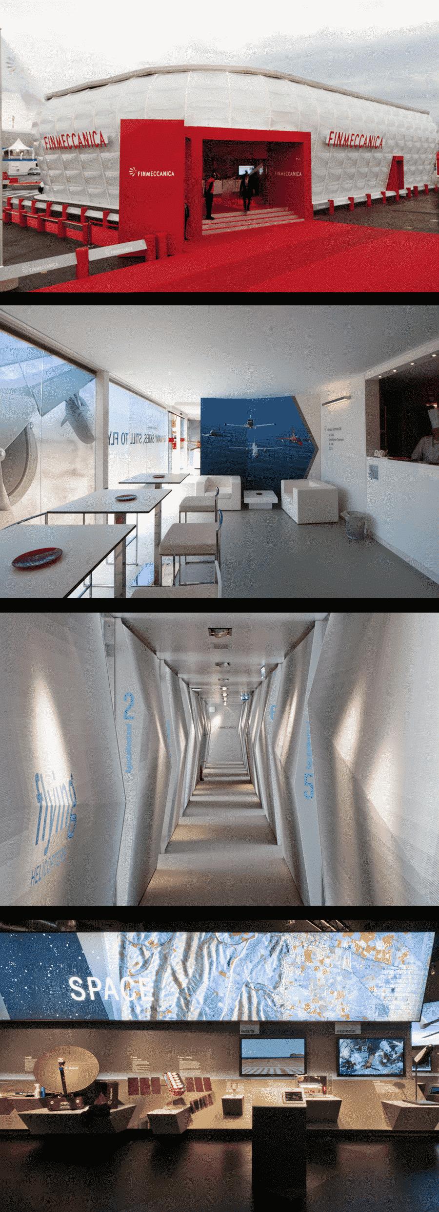 Airshow 2013, GRIDALAB progetta un eco-stand per Finmeccanica