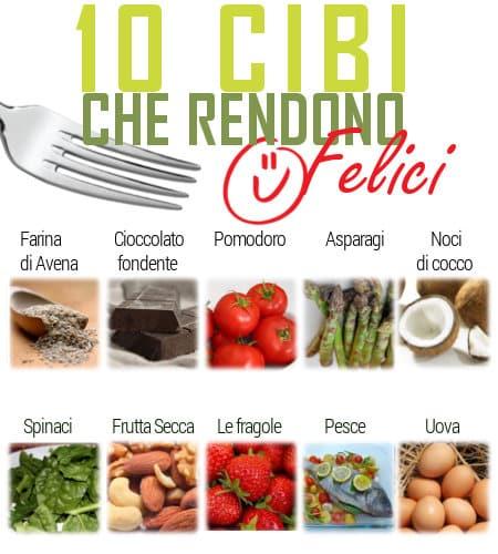 10 Cibi che Ti Rendono Felice - BioNotizie.com