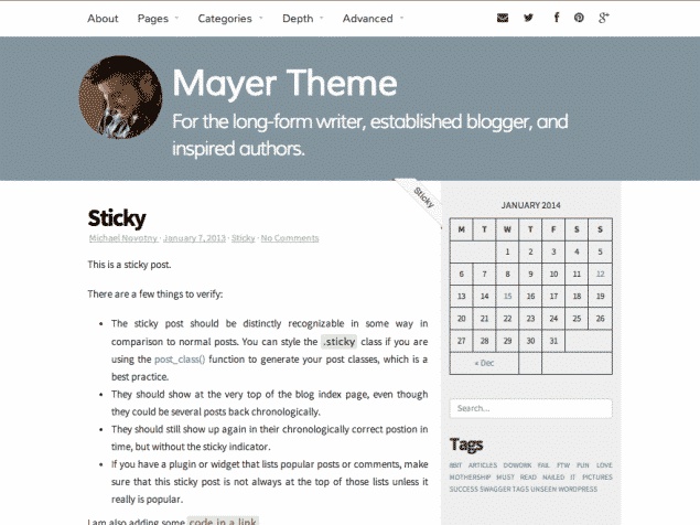 New Themes: Mayer and Axon
