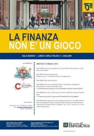 ECONOMIA - A Cagliari incontro sulla Finanza
