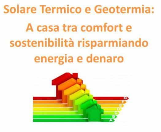 Ecco la Guida dell'Expocomfort sul Solare Termico e Geotermia: a casa tra comfort e sostenibilità, risparmiando energia e denaro!