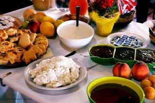 Ricca colazione all'Agriturismo S'Ozzastru