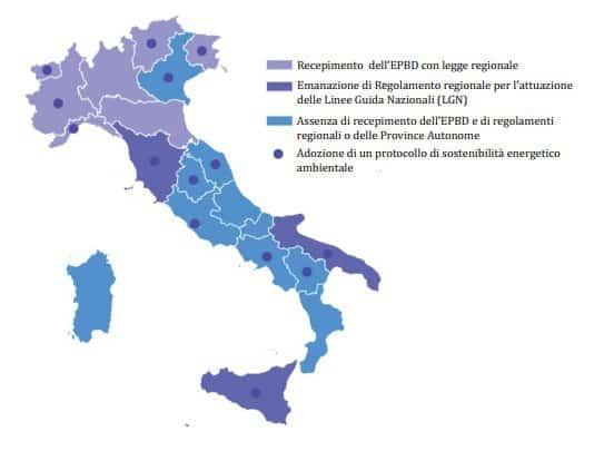 Rapporto 2013 sull'Attuazione della Certificazione Energetica degli edifici in Italia