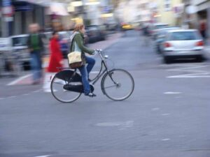 Il bello di usare la bici