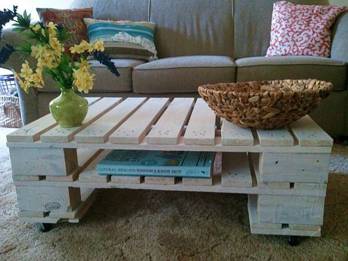 19 Idee creative per riciclare i bancali in legno