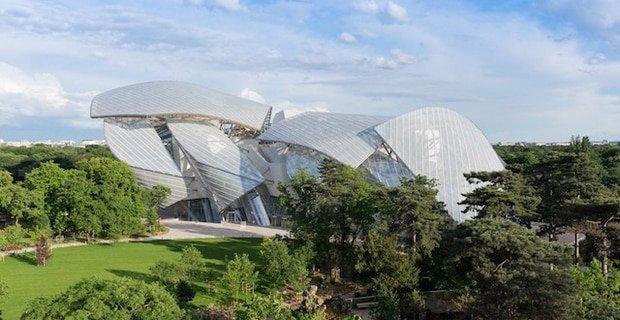 Frank Gehry: un edificio di cristallo per Louis Vuitton