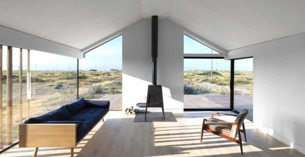 Vacanze nel deserto: la casa ispirata alle tradizionali costruzioni locali