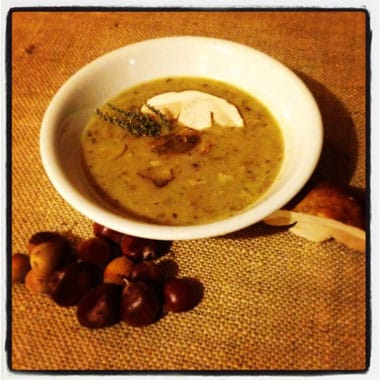 zuppa di porcini, Agriturismo Montagna Verde