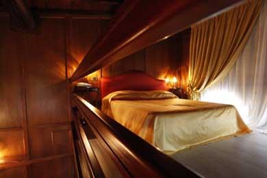 Suite con soppalco al Resort Villa Fornacina