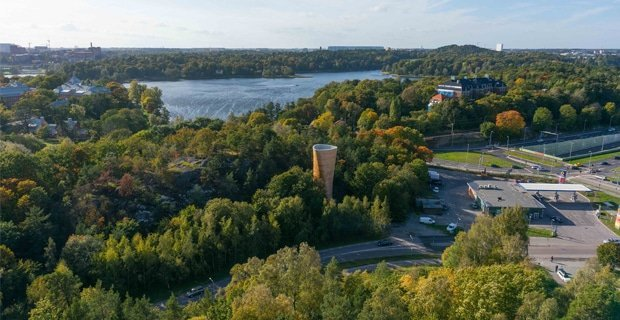 Modellazione parametrica per due torri di ventilazione in legno a Stoccolma