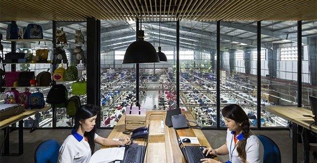 La fabbrica di ultima generazione progettata per ridurre lo stress dei lavoratori