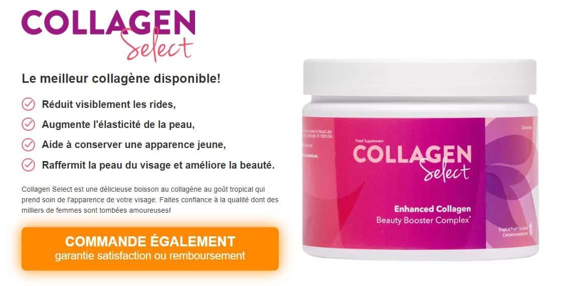 Tout savoir sur le Collagen Select