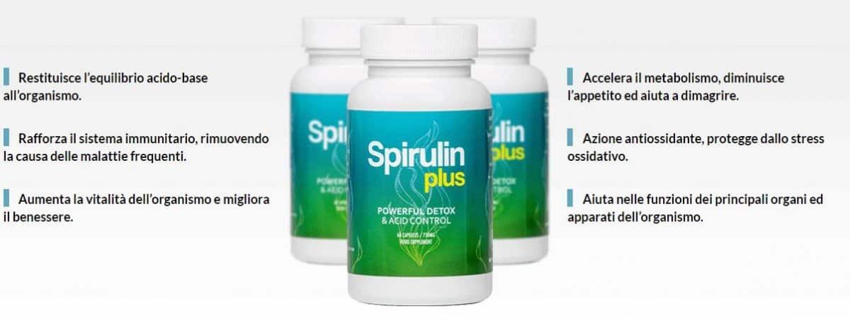 Spirulin Plus: disintossica l'organismo e migliora il benessere