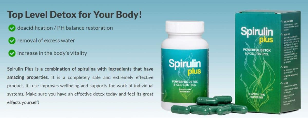 Detoxify the Body of Toxins with the Help of Spirulina