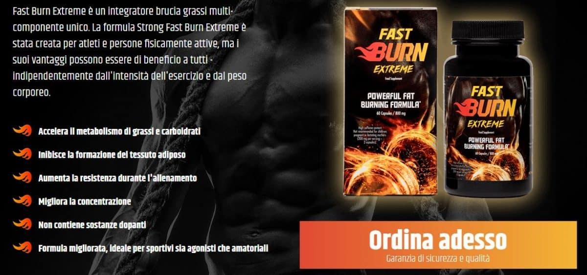 Accelerare il metabolismo con Fast Burn Extreme