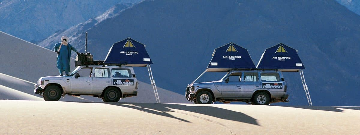 Autohome Roof Top Tent - Made in Italy lifestyle philosophy